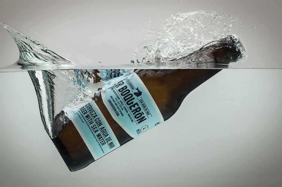 Birra con acqua di mare